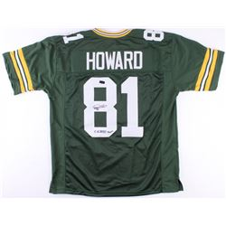 "Desmond Howard Signed Packers Jersey Inscribed ""SB XXXI MVP"" (Radtke COA)"