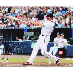 Chipper Jones Signed Braves 20x24 Photo (MLB Hologram)