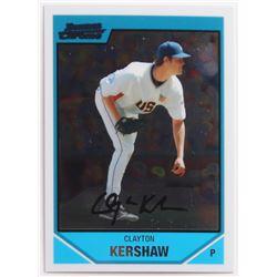 2007 Bowman Chrome Draft Future's Game Prospects #BDPP77 Clayton Kershaw