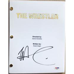 """Mickey Rourke Signed """"The Wrestler"""" Full Movie Script (PSA COA)"""