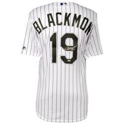 Charlie Blackmon Signed Rockies Jersey (MLB Hologram  Fanatics Hologram)