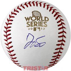 George Springer Signed 2017 World Series Logo Baseball (TriStar Hologram)