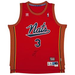 Allen Iverson Signed Nationals Limited Edition Throwback Adidas Jersey (UDA COA)