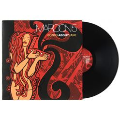 "Adam Levine Signed Maroon 5 ""Songs About Jane"" Vinyl Record Album (JSA COA)"