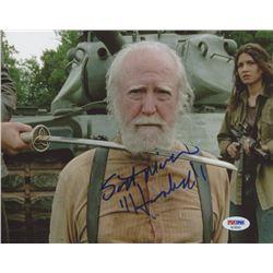 "Scott Wilson Signed ""The Walking Dead"" 8x10 Photo Inscribed ""Hershel"" (PSA COA)"