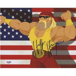 Hulk Hogan Signed WWE 8x10 Photo (PSA COA)
