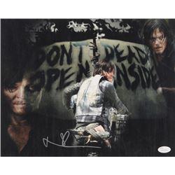 "Norman Reedus Signed ""The Walking Dead"" 11x14 Photo (JSA COA)"