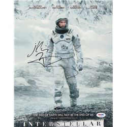 "Matthew McConaughey Signed ""Interstellar"" 11x14 Photo (PSA COA)"