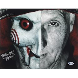 "Tobin Bell Signed ""Saw"" 11x14 Photo Inscribed ""Jigsaw"" (Beckett COA)"