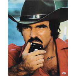 "Burt Reynolds Signed ""Smokey and the Bandit"" 16x20 Photo (Beckett COA)"