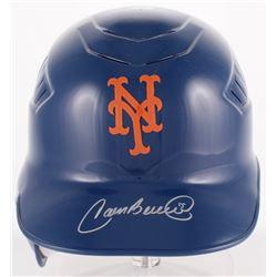 Carlos Beltran Signed Mets Full-Size Batting Helmet  (Schwartz COA)
