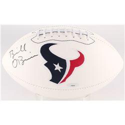 Bill O'Brien Signed Texans Logo Football (Tristar Hologram)