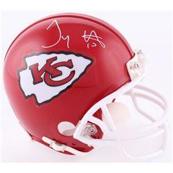 Tyreek Hill Signed Chiefs Mini-Helmet (JSA COA)