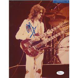 Jimmy Page Signed 8x10.25 Photo (JSA LOA)