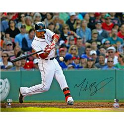 Mookie Betts Signed Red Sox 16x20 Photo (Fanatics Hologram)