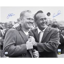 "Arnold Palmer  Jack Nicklaus Signed ""1965 Masters"" 16x20 Photo (Fanatics Hologram)"