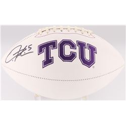LaDainian Tomlinson Signed TCU Horned Frogs Logo Football (Tomlinson Hologram)