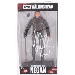 Jeffrey Dean Morgan Signed  The Walking Dead  McFarlane's Action Figure Inscribed  Negan  (Radtke CO