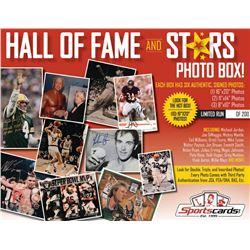 """Hall of Fame  Stars"" Sportscards.com Mystery Photo Box! (6) Signed Photos Per Box!"