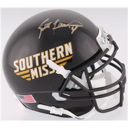 Brett Favre Signed Southern Miss Golden Eagles Mini-Helmet (Radtke COA)