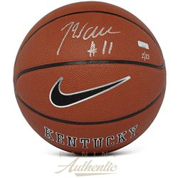 John Wall Signed Kentucky Wildcats LE Logo Basketball (Panini COA)