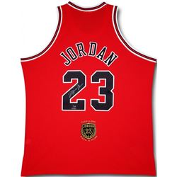 Michael Jordan Signed LE 2009 Bulls HOF Authentic Jersey (UDA COA)