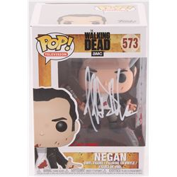 "Jeffrey Dean Morgan Signed #573 The Walking Dead ""Negan"" Funko Pop Vinyl Figure Inscribed ""Negan"" (R"