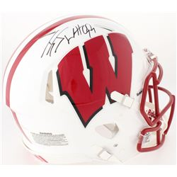 J. J. Watt Signed Wisconsin Badgers Full-Size Authentic On-Field Speed Helmet (JSA COA  Watt Hologra