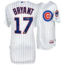 Kris Bryant Signed Cubs Majestic Jersey (MLB Hologram  Fanatics Hologram)