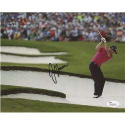 Justin Thomas Signed 8x10 Photo (JSA COA)