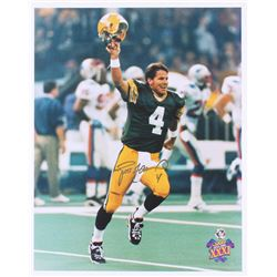"Brett Favre Signed Packers ""Superbowl XXXI"" 16x20 Photo (Favre COA)"