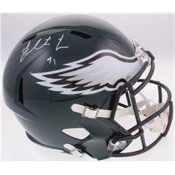 Fletcher Cox Signed Eagles Full-Size Speed Helmet (Fanatics Hologram)