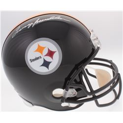 Terry Bradshaw Signed Steelers Full-Size Helmet (Radtke COA  Bradshaw Hologram)