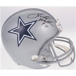 Herschel Walker Signed Cowboys Full-Size Helmet (Radtke COA)