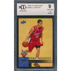 2009-10 Upper Deck #234 Stephen Curry SP RC (BCCG 9)