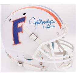"Jack Youngblood Signed Florida Gators Throwback Full-Size Helmet Inscribed ""CHF '92"" (Radtke COA)"