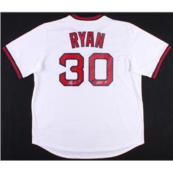"Nolan Ryan Signed Angels Jersey Inscribed ""H.O.F. '99"" (AI Verified Hologram  Nolan Ryan Hologram)"