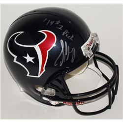 Jadeveon Clowney Signed Texans Full-Size Helmet Inscribed  '14 #1 Pick  (Steiner Hologram)