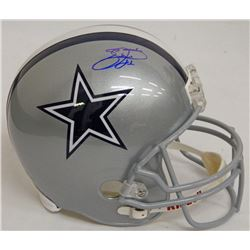 Emmitt Smith Signed Cowboys Full-Size Helmet (Schwartz COA  Prova Hologram)