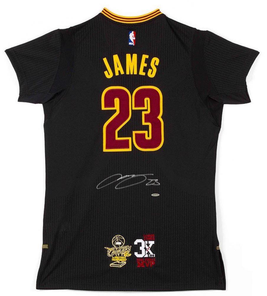 fcea51d65c61 LeBron James Signed Cavaliers Adidas