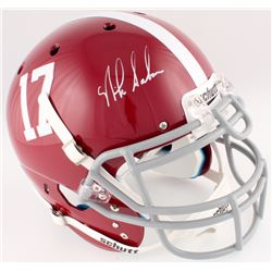 Nick Saban Signed Alabama Crimson Tide Full-Size Authentic On-Field Helmet (Radtke COA)