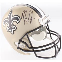 Mark Ingram Jr. Signed Saints Full-Size Helmet (Ingram Hologram)