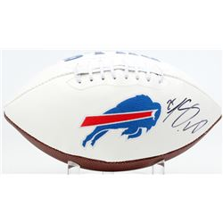 LeSean McCoy Signed Bills Logo Football (JSA COA)