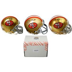 San Francisco 49ers Signed Mystery Box Mini Helmet – World Champions Edition - Series 2 - (Limited