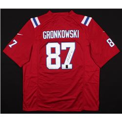 Rob Gronkowski Signed Patriots Jersey (Gronkowski Hologram)