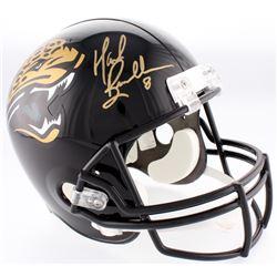 Mark Brunell Signed Jaguars Full-Size Helmet (Beckett COA)