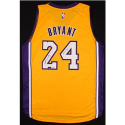 "Kobe Bryant Signed LE Lakers Adidas Jersey Inscribed ""Mamba Out"" (Panini COA)"