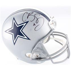 Cole Beasley Signed Cowboys Full-Size Helmet (JSA COA  Fanatics Hologram)