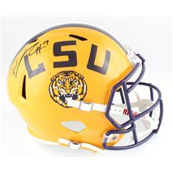 DJ Chark Signed LSU Tigers Full-Size Speed Helmet (Radtke COA  Chark Hologram)