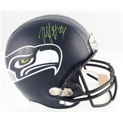 Marshawn Lynch Signed Seahawks Full-Size Helmet (Lynch COA)